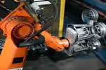 汽车轮毂机器人生产线