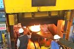12000吨锻造液压机铝合金轮毂生产线