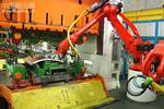 柯马冲压车间自动化送料机器人