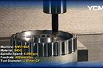 YCM NMV106A齿轮切削演示