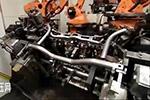 大众汽车零部件生产检验车间