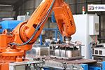 ABB机器人应用于樱奥厨具打磨