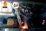 机器人应用热锻感应加热炉