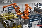 机器人传送系统模拟