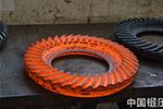 数控液压模锻锤锻造锥齿轮