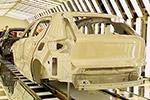 全新的2018年沃尔沃XC 40小型SUV生产Ghent计划(比利时)