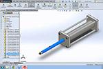 SolidWorks气动气缸教程2