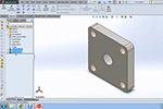 SolidWorks气动气缸教程1