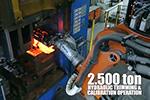 锻钢曲轴生产过程