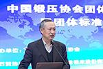 中国锻压协会团体标准委员会成立大会――中国锻压协会执行副理事长兼秘书长 张金