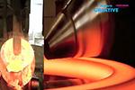 德国工厂非常现代自动重型钢锻造制造工艺